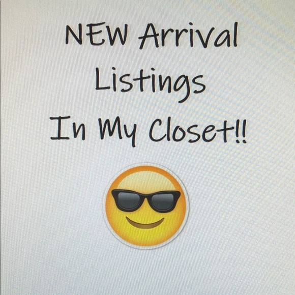 NEW Listings to My Closet!!
